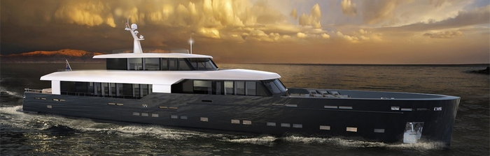 Imminent launch of the Logica 147-01 Super Yacht logicaBSD147