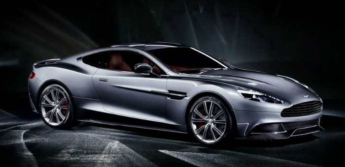From the sea to the land always with style  From the sea to the land always with style Aston Martin Vanquish