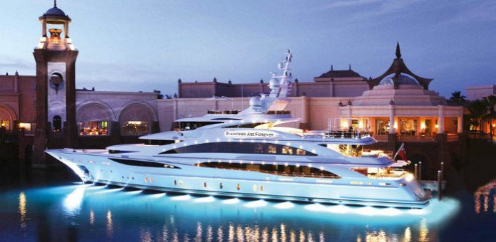 $ 59,500,000 Yatch: Diamonds Are Forever Diamonds Are Forever Yatch