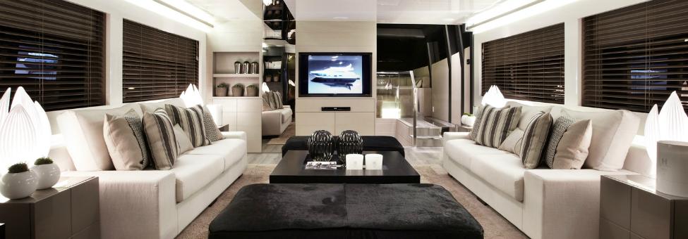 Pearl 75, a modern yacht's design  Pearl 75, a modern yacht's design Modern Yacht Interior