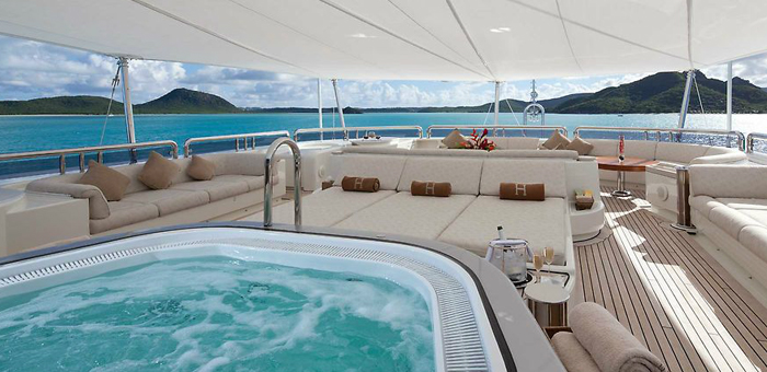 Luxury yacht interior: Solemar Untitled 1