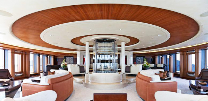 BEST YACHT INTERIOR: SERENE BEST YACHT INTERIOR SERENE