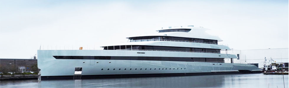 Feadship launched the World's Largest Hybrid Yacht: Savannah Feadship launched the Worlds Largest Hybrid Yacht Savannah