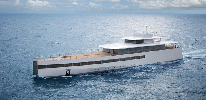 Steve Jobs' Superyacht steve jobs Steve Jobs' Superyacht Steve Jobs Luxury Yacht