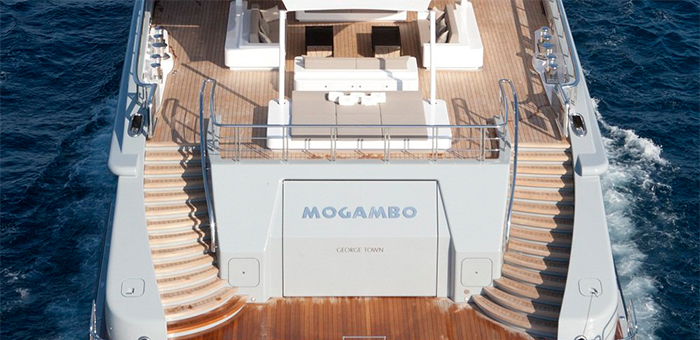 The outstanding interior design of the Mogambo Super Yacht The outstanding interior design of the Mogambo Super Yacht