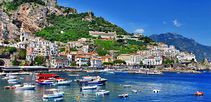 Luxury Yacht Vacation: Italy's Shore Luxury Yacht Vacation Amalfi Coast and Sicily
