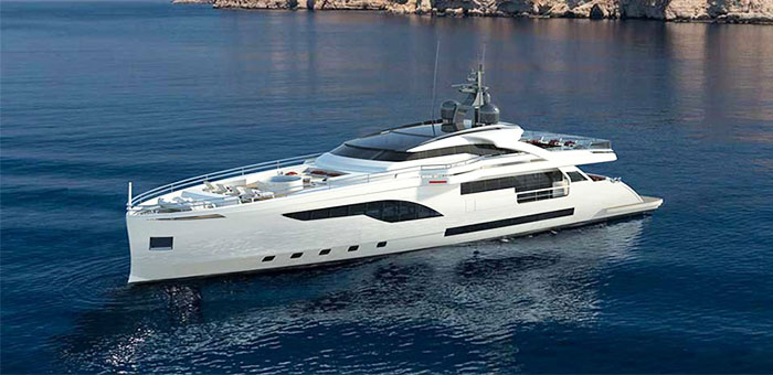 Wider 125, the best superyacht revealed at Miami 2015 Wider 125 the best superyacht revealed at Miami 2015