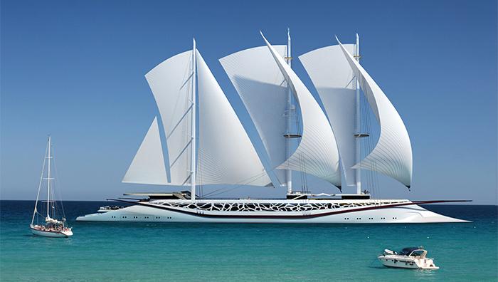Yacht Concept: The splendid Phoenicia Sailing Yacht Yacht Concept The splendid Phoenicia Sailing Yacht