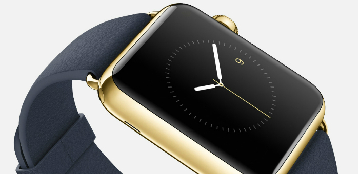 The Gold Luxury version of Apple Smartwatch  The Gold Luxury version of Apple Smartwatch The Gold Luxury version of Apple Smartwatch