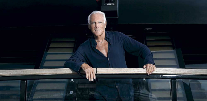 Interview: Armani on Board of his Superyacht Main Interview Armani on Board of his Superyacht Main