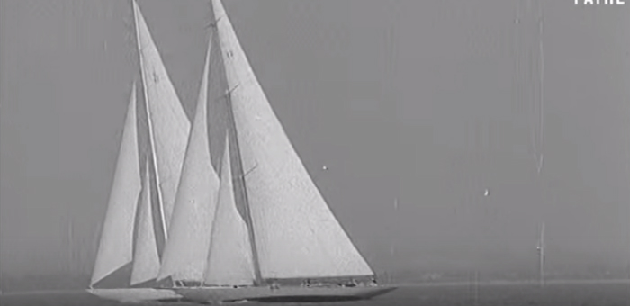 Sail back in time: J Class yachts in vintage video  Sail back in time: J Class yachts in vintage video Sail back in time J Class yachts in vintage video 3