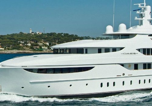 The Most Luxurious Yachts Owned by Celebrities celebrities The Most Luxurious Yachts Owned by Celebrities superyacht oasis 1 500x349