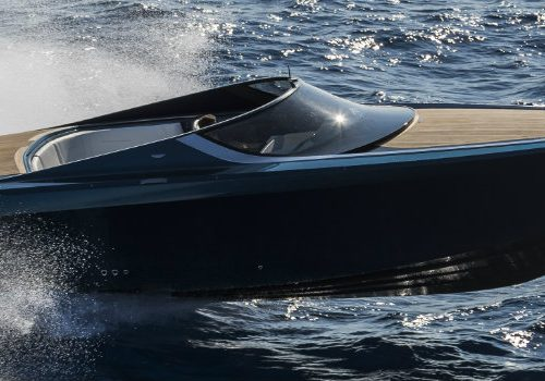 Contemplate the Splendour of the Very First Aston Martin Powerboat Aston Martin Powerboat Contemplate the Splendour of the Very First Aston Martin Powerboat featured 1 500x350