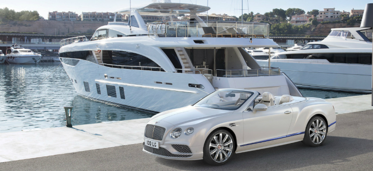 featured luxury yachts Bentley Motors' New Continental GT Design Inspired by Luxury Yachts featured 7