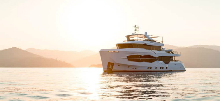 Luxury Yachts Luxury Yachts – Admire the Stylish Structure of Numarine's Marla Yacht featured