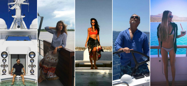 Luxury Yachts 7 Interesting Celebrity Photos Taken On Luxury Yachts featured1