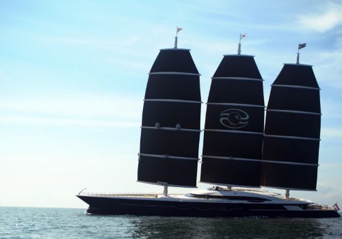 Oceanco's Black Pearl to Become the Largest Sailing Yacht In the World largest sailing yacht in the world Oceanco's Black Pearl to Become the Largest Sailing Yacht In the World featured 4 500x350