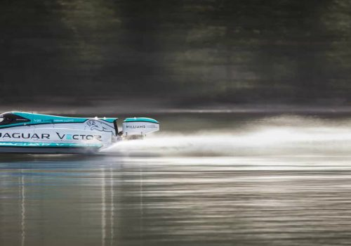Jaguar V20E Classified as the Fastest Electric Motorboat in the World jaguar v20e Jaguar V20E Classified as the Fastest Electric Motorboat in the World featured 500x350