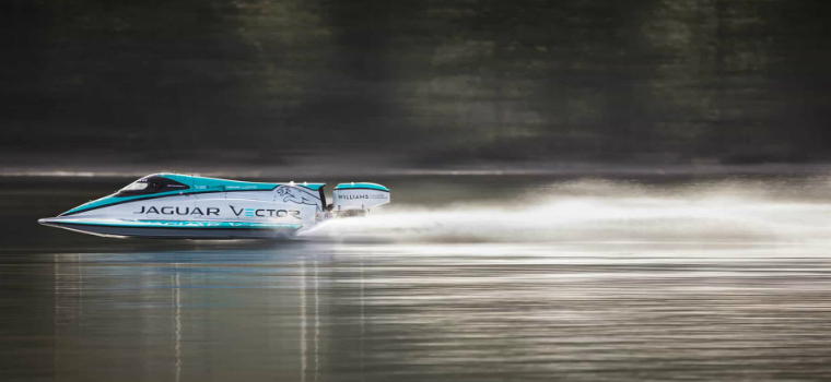 jaguar v20e Jaguar V20E Classified as the Fastest Electric Motorboat in the World featured