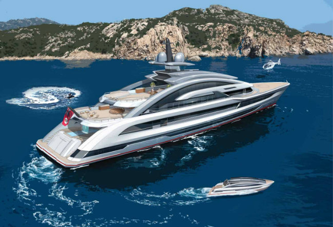 Heesen Meet COSMOS: Heesen's Largest Yacht project to date COSMOS destaque