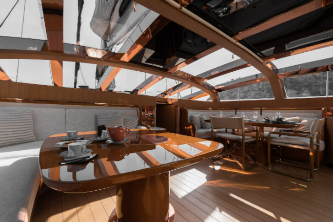 superyacht Ribelle Have a look inside the wonderful superyacht Ribelle DESTAQUE 11