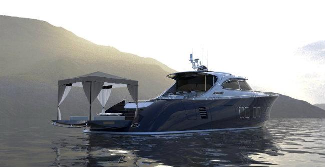 luxury yacht Zeelander Z72: a luxury yacht with a design inspired by Porsche DESTAQUE 7