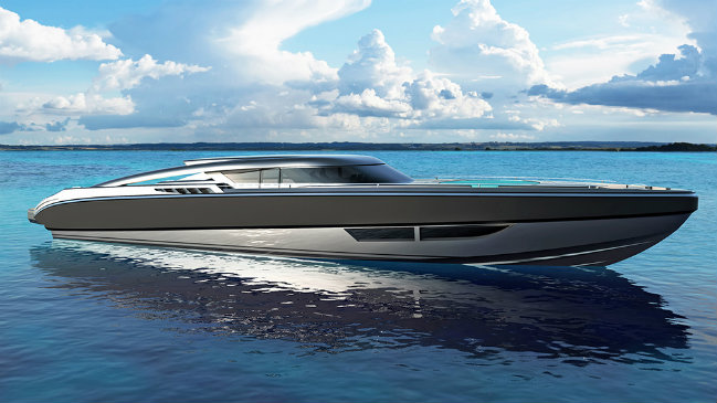 luxury chase boat Have a look at Fiorentino and SACS' new 5000-HP luxury chase boat DESTAQUE 8