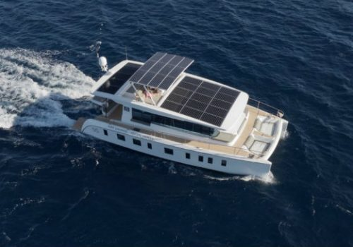 Silent Yachts' S55 is the first solar powered yacht in Asia Silent Yachts Silent Yachts' S55 is the first solar powered yacht in Asia FEATURE 4 500x350