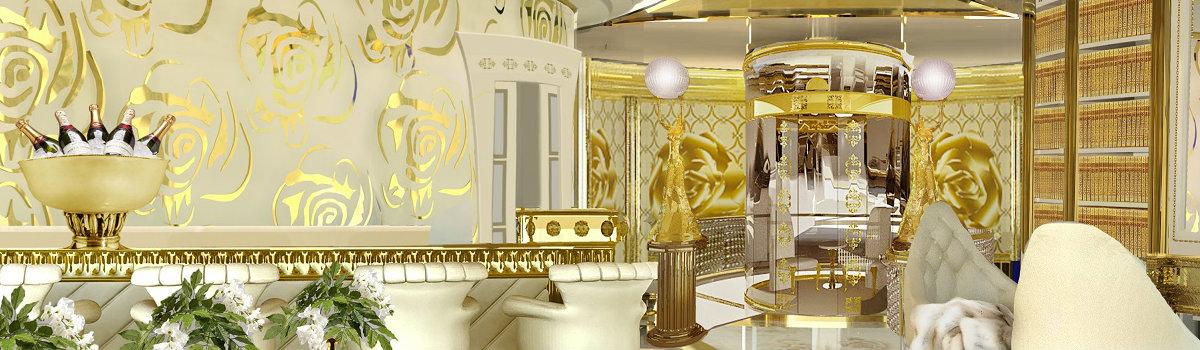 luxury yacht interiors See some inspiring interiors of Mix Metals in luxury yacht interiors FEATURE 15