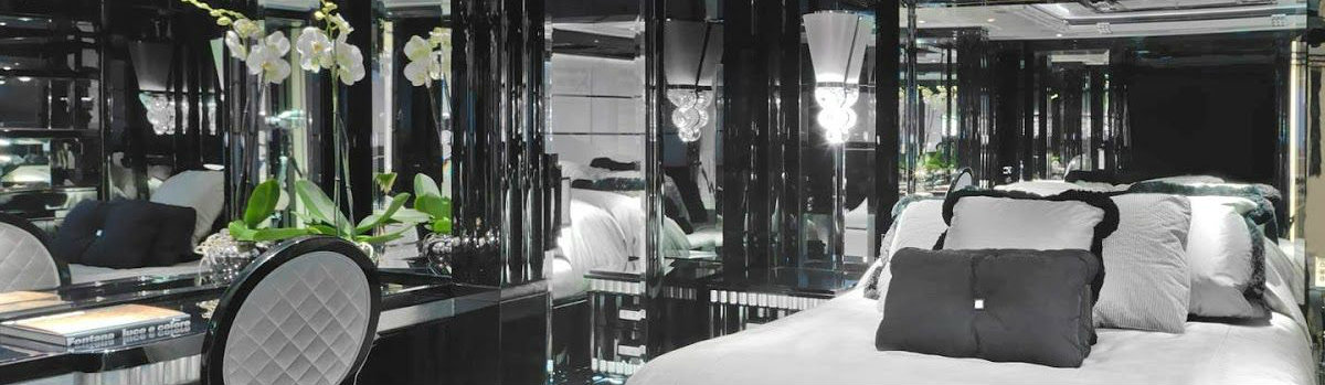 luxury yacht interiors Inspire yourself with some black decoration in luxury yacht interiors FEATURE 16