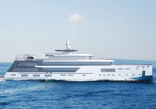 Admire Gill Schmid's New Superyacht Project, The Hybrid Explorer Yacht hybrid explorer yacht Admire Gill Schmid's New Superyacht Project, The Hybrid Explorer Yacht Admire Gill Schmids New Superyacht Project The Hybrid Explorer Yacht 7 500x350