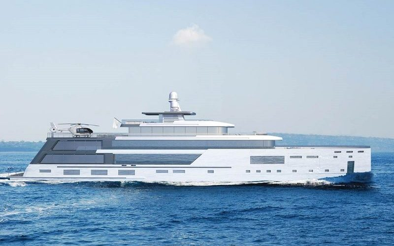 hybrid explorer yacht Admire Gill Schmid's New Superyacht Project, The Hybrid Explorer Yacht Admire Gill Schmids New Superyacht Project The Hybrid Explorer Yacht 7 800x500