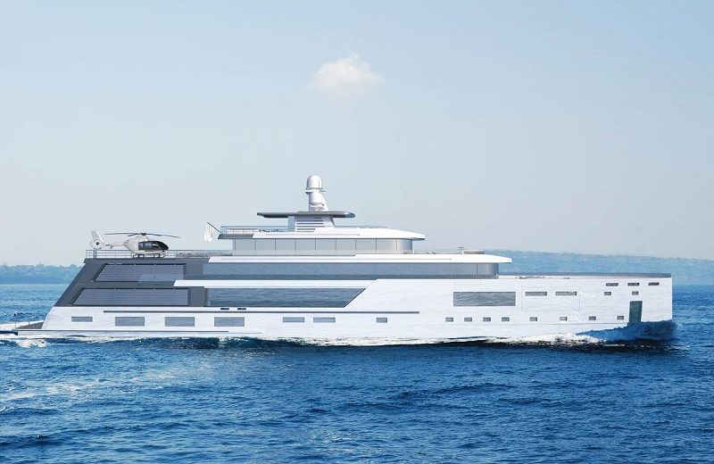 hybrid explorer yacht Admire Gill Schmid's New Superyacht Project, The Hybrid Explorer Yacht Admire Gill Schmids New Superyacht Project The Hybrid Explorer Yacht 7