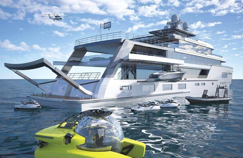 hybrid explorer yacht Admire Gill Schmid's New Superyacht Project, The Hybrid Explorer Yacht Admire Gill Schmids New Superyacht Project The Hybrid Explorer Yacht 8