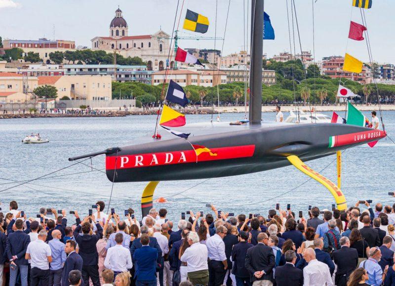 Prada Debuts New Boat Monohull, The Luna Rossa AC75 luna rossa ac75 Prada Debuts New Boat Monohull, The Luna Rossa AC75 Prada Debuts New Boat Monohull The Luna Rossa AC75 3 1 e1571242256351