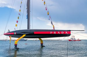 Prada Debuts New Boat Monohull, The Luna Rossa AC75