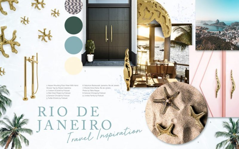 Be Inspired By Rio De Janeiro's Vibes Through These Luxury Handles