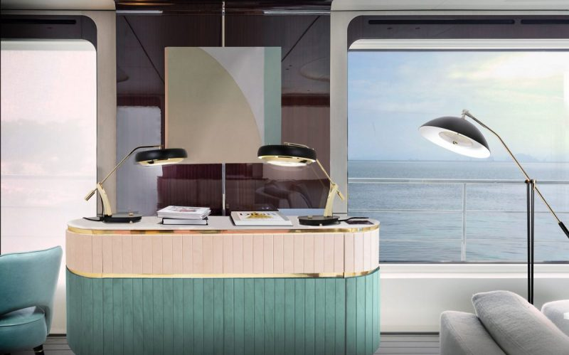 Get A Retro Look For Your Fabulous Luxury Yacht