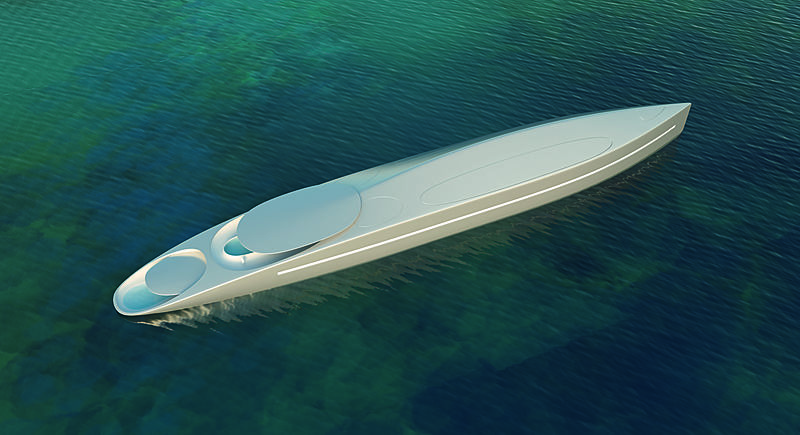 hybrid yacht Project L: The Hybrid Yacht From Thierry Gaugain and SuperYachtsMonaco Project L The Hybrid Yacht From Thierry Gaugain and SuperYachtsMonaco 5