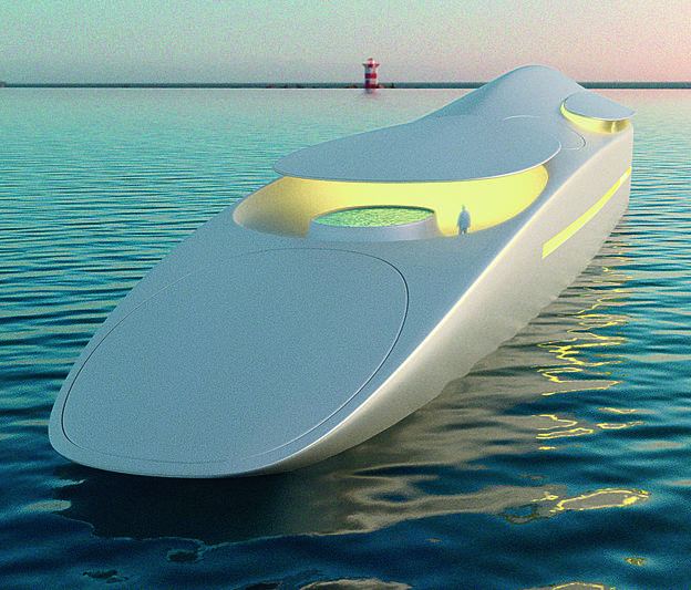 hybrid yacht Project L: The Hybrid Yacht From Thierry Gaugain and SuperYachtsMonaco Project L The Hybrid Yacht From Thierry Gaugain and SuperYachtsMonaco