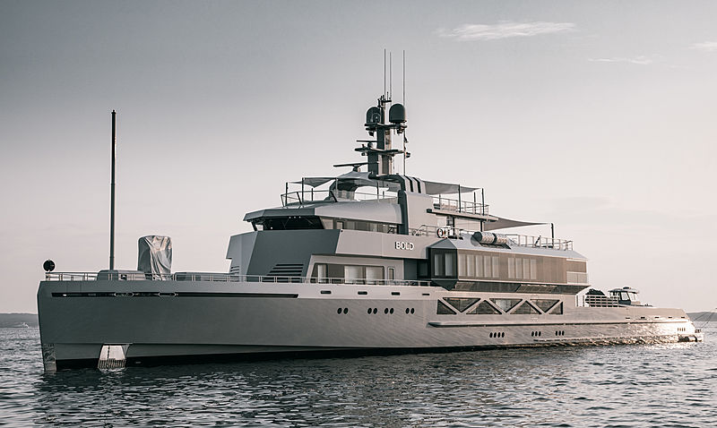 BOLD Superyacht Will Debut At Miami Yacht Show 2020