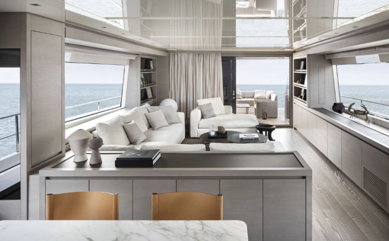 Meet The SL86 Yacht, A Floating Open Space By Sanlorenzo