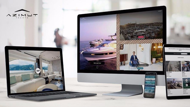azimut yachts Azimut Yachts Debuts Its First Ever Online Lounge & Digital Boat Show! Azimut Yachts Debuts Its First Ever Online Lounge Digital Boat Show