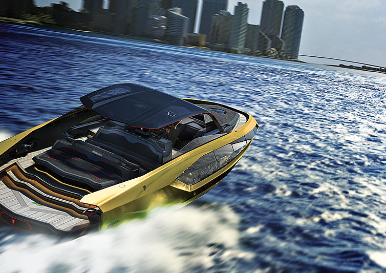 Meet The Lamborghini 63 Hyper Yacht From The Italian Sea Group!