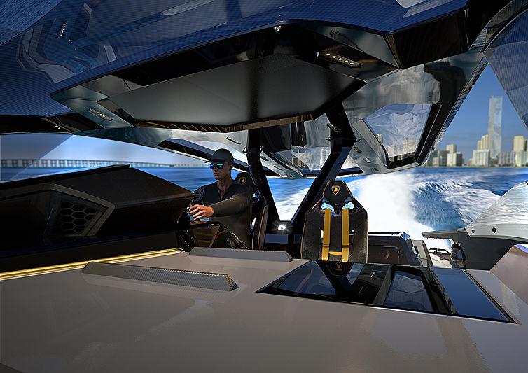 lamborghini Meet The Lamborghini 63 Hyper Yacht From The Italian Sea Group! Meet The Lamborghini 63 Hyper Yacht From The Italian Sea Group1