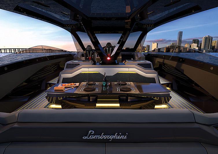 lamborghini Meet The Lamborghini 63 Hyper Yacht From The Italian Sea Group! Meet The Lamborghini 63 Hyper Yacht From The Italian Sea Group2
