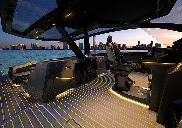 lamborghini Meet The Lamborghini 63 Hyper Yacht From The Italian Sea Group! Meet The Lamborghini 63 Hyper Yacht From The Italian Sea Group4